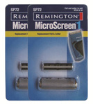 Remington SP72-2 Replacement Foil & Cutter